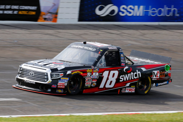 NASCAR Camping World Truck Series Drivin? For Linemen 200 Gateway Motorsports Park, Madison, IL USA Saturday 17 June 2017 Noah Gragson, Switch Toyota Tundra World Copyright: Russell LaBounty LAT Images