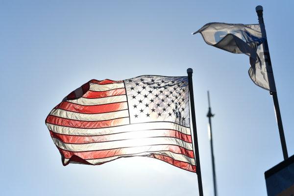 IMSA WeatherTech SportsCar Championship AMERICA'S TIRE 250 Mazda Raceway Laguna Seca Monterey, CA USA Sunday 24 September 2017 American Flag World Copyright: Richard Dole LAT Images ref: Digital Image RD_LS_17_301