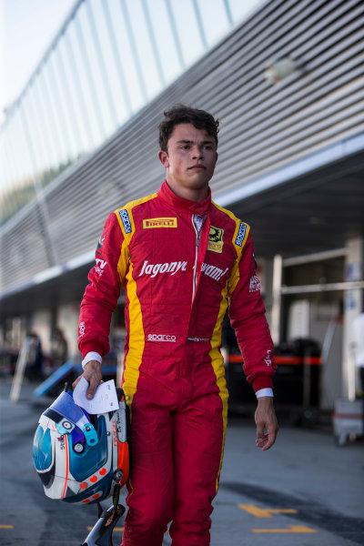 2017 FIA Formula 2 Round 10. Circuito de Jerez, Jerez, Spain. Friday 6 October 2017. Nyck De Vries (NED, Racing Engineering).  Photo: Andrew Ferraro/FIA Formula 2. ref: Digital Image _FER0602