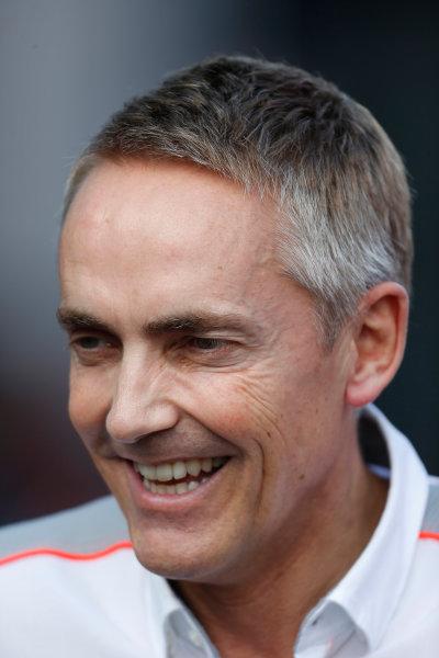 Nurburgring, Germany 6th July 2013 Martin Whitmarsh, Team Principal, McLaren World Copyright: Charles Coates/  ref: Digital Image _N7T1273