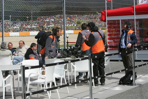2008 Moto GP ChampionshipEstoril, Portugal. 12th - 13th April 2008The BBC.World Copyright: Martin Heath/LAT Photographicref: Digital Image Only