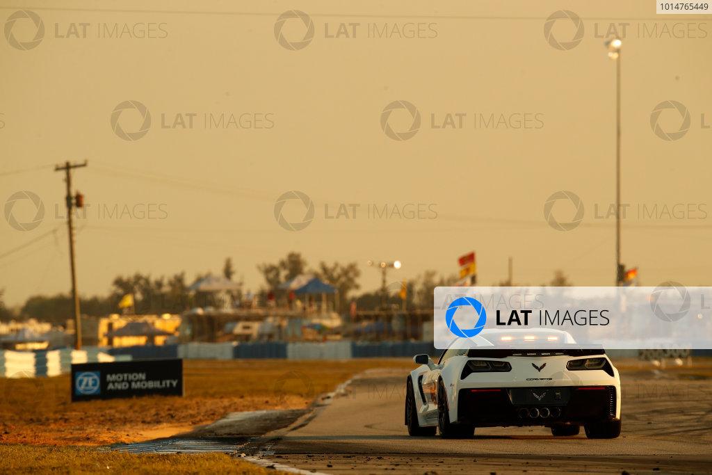 2017 IMSA WeatherTech SportsCar Championship Mobil 1 Twelve Hours of Sebring Sebring International Raceway, Sebring, FL USA Saturday 18 March 2017 Corvette pace car World Copyright: Michael L. Levitt/LAT Images ref: Digital Image levitt_seb_0317-27093