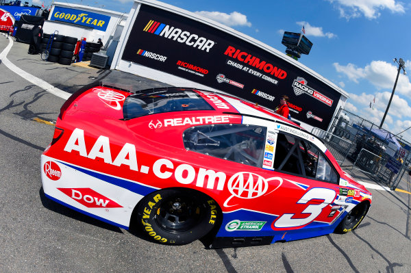 Monster Energy NASCAR Cup Series Toyota Owners 400 Richmond International Raceway, Richmond, VA USA Friday 28 April 2017 Austin Dillon, Richard Childress Racing, AAA Chevrolet SS World Copyright: Nigel Kinrade LAT Images ref: Digital Image 17RIC1nk00606