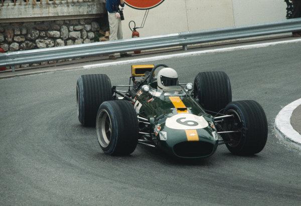 1969 Monaco Grand Prix.Monte Carlo, Monaco. 15-18 May 1969.Jacky Ickx (Brabham BT26A Ford). Ref-69 MON 40.World Copyright - LAT Photographic
