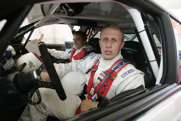 2004 FIA World Rally Champs. Round ten, OMV Deutschland Rally.19th - 22nd August 2004.Alister McRae, Subaru,portrait.World Copyright: McKlein/LAT
