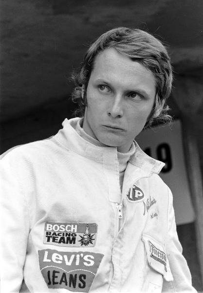 Niki Lauda(AUT) made his Grand Prix debut driving a March 711, he retired on lap 20 with handling problems Austrian GP, Osterreichring, 15 August 1971