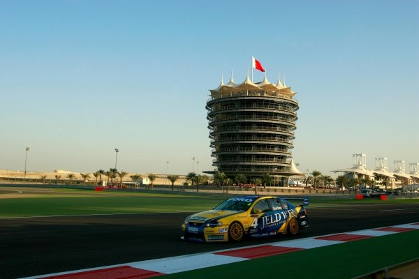 James Courtney (AUS) Jeld-Wen Ford finished 2nd outright for the round and second in race 3 after leading early.