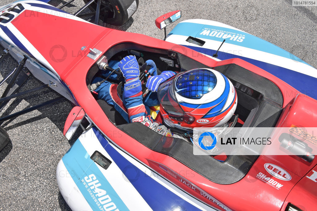 2017 F4 US Championship Rounds 1-2-3 Homestead-Miami Speedway, Homestead, FL USA Saturday 8 April 2017 #40 Jack William Miller in cockpit. World Copyright: Dan R. Boyd/LAT Images