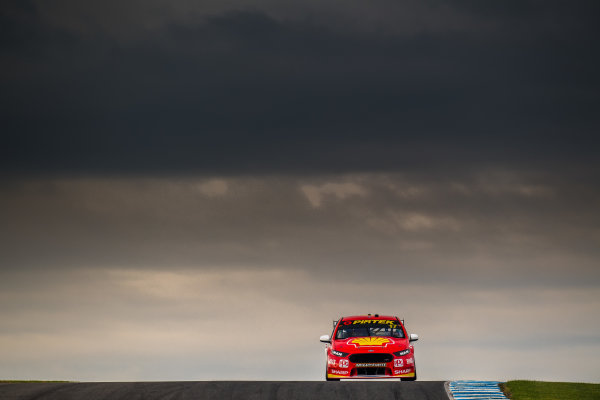 2017 Supercars Championship Round 3.  Phillip Island 500, Phillip Island, Victoria, Australia. Friday 21st April to Sunday 23rd April 2017. Scott McLaughlin drives the #17 Shell V-Power Racing Team Ford Falcon FGX. World Copyright: Daniel Kalisz/LAT Images Ref: Digital Image 210417_VASCR3_DKIMG_0489.JPG