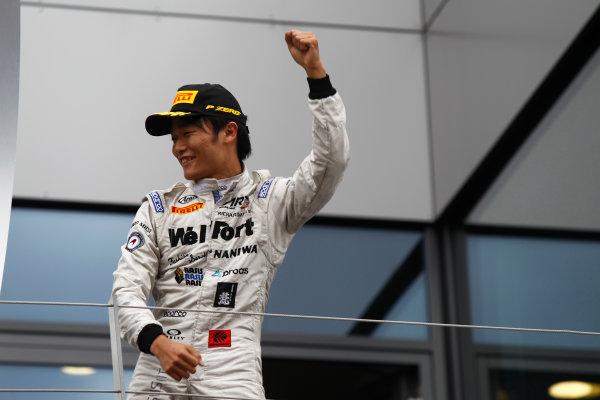 2015 GP2 Series Round 4. Red Bull Ring, Spielberg, Austria. Sunday 21 June 2015. Nobuharu Matsushita (JPN, ART Grand Prix)  Photo:  Sam Bloxham/GP2 Media Service ref: Digital Image _G7C6452
