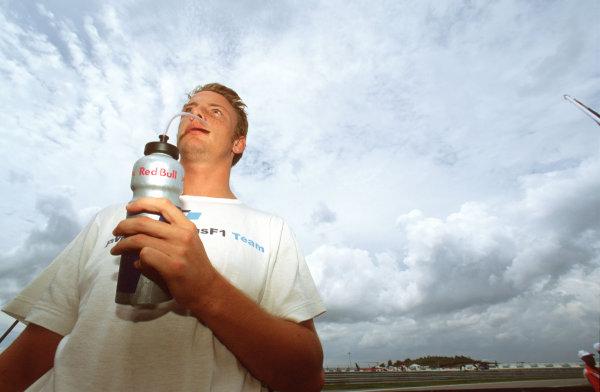 Sepang, Kuala Lumpur, Malaysia.20-22 October 2000.Jenson Button (Williams BMW).World Copyright: Tee/LAT Photographicref: 35mm A62