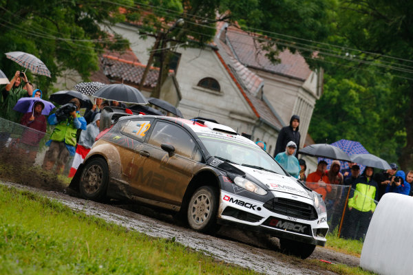 2016 FIA World Rally Championship, Round 07, Rally Poland,  June 30 - July 03, 2016 Ott Tanak, Ford, action Worldwide Copyright: McKlein/LAT