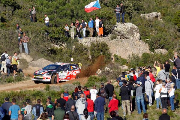 Round 12, Rally d'Italia Sardinia 201218th - 21st October 2012Martin Prokop, Ford, actionWorldwide Copyright: McKlein/LAT