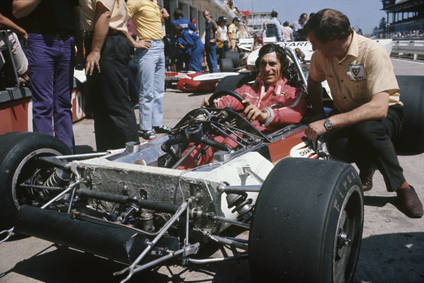1971 German Grand Prix.  Nurburgring, Germany. 30th July - 1st August 1971.  Vic Elford, BRM P160.  Ref: 71GER43. World Copyright: LAT Photographic