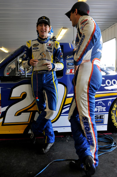 2-3 August, 2013, Long Pond, Pennsylvania USA Ryan Blaney and Chas Elliott ©2013, Nigel Kinrade LAT Photo USA
