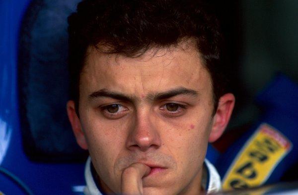 Franck Lagorce (FRA) Ligier JS39B Renault.Japanese Grand Prix, Suzuka, Japan, 6 November 1994.