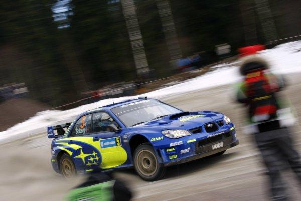 2008 FIA World Rally ChampionshipRound 02Swedish Rally7-10 February 2008Petter Solberg, Subaru, Action.Worldwide Copyright: McKlein/LAT