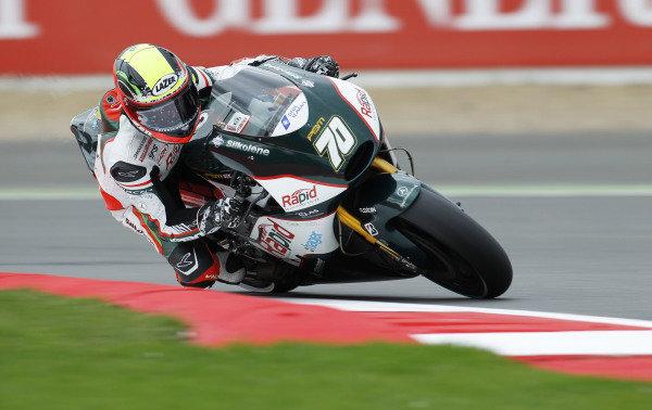 2014 MotoGP Championship  British Grand Prix.  Silverstone, England. 29th - 30st August 2014.  Michael Laverty, PBM Aprilia.  Ref: _W1_5454. World copyright: Kevin Wood/LAT Photographic