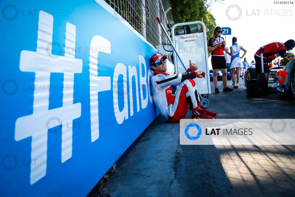 Race Event. Bruno Senna (BRA), Mahindra Racing M2ELECTRO. Buenos Aires ePrix. Buenos Aires, Argentina, South America Saturday 6 February 2016 Photo: Adam Warner /LAT/FE ref: Digital Image _L5R0891