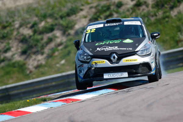 2016 Renault Clio Cup, Thruton, 7th-8th My 2016 Daniel Rowbottom (GBR) Team EcoMotive with DRM Renault Clio Cup  World copyright. Jakob Ebrey/LAT Photographic