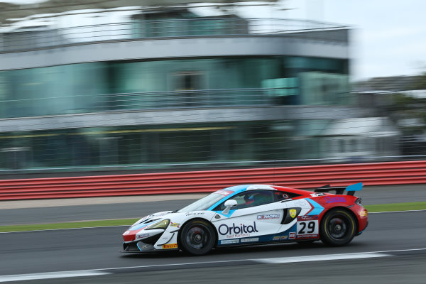 2017 British GT Championship, Silverstone, 11th-12th June 2017, Marcus Hoggarth / Matty Graham - In2Racing - McLaren 570S GT4. World copyright. JEP/LAT Images