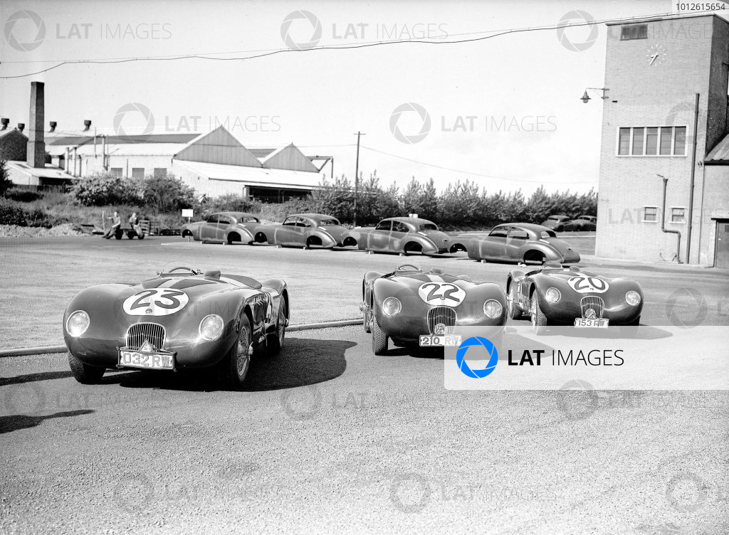 Le Mans, France. 23-24 June 1951.