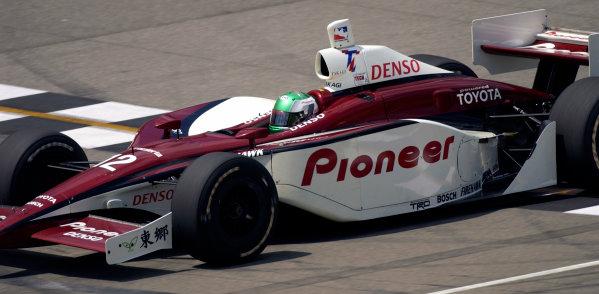 2003 IRL IndyCar Michigan International Speedway 7/25-7/27/2003, Brooklyn,Michigan USATora TakagiWorld Copyright-Walt Kuhn 2003 LAT Photographicref: Digital Image Only