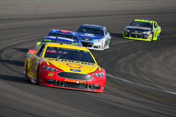Monster Energy NASCAR Cup Series Can-Am 500 Phoenix Raceway, Avondale, AZ USA Sunday 12 November 2017 Joey Logano, Team Penske, Shell Pennzoil Ford Fusion World Copyright: Logan Whitton LAT Images