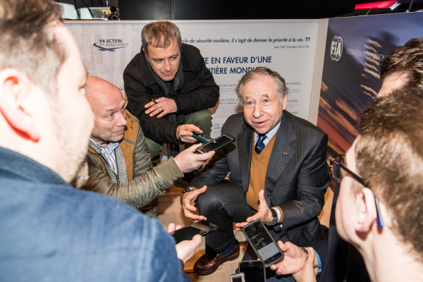 2017/2018 FIA Formula E Championship. Geneva Motor Show Tuesday 6 March 2018. The FIA Formula-E Gen2 car is unveiled. Photo: Sam Bloxham/LAT/Formula E ref: Digital Image _W6I3871
