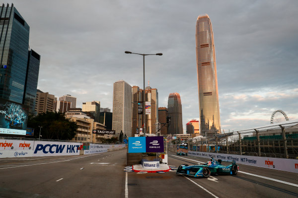 2017/2018 FIA Formula E Championship. Round 1 - Hong Kong, China. Saturday 02 December 2017. Antonio Felix Da Costa (POR), MS + AD Andretti Formula E, Andretti ATEC-03. Photo: Sam Bloxham/LAT/Formula E ref: Digital Image _J6I3702