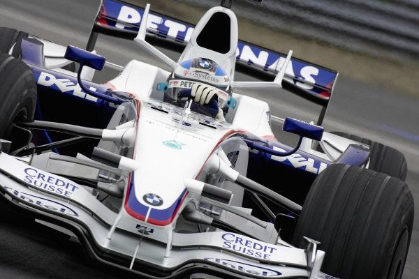 Nick Heidfeld, BMW Sauber F1.08.