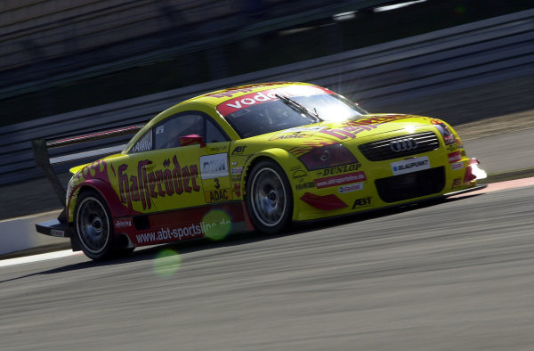 2002 DTM Championship Nurburgring, Germany. 2th - 4th August 2002. Laurent Aiello (Abt Audi TT-R) action.World Copyright: Andre Irlmeier/LAT Photographic