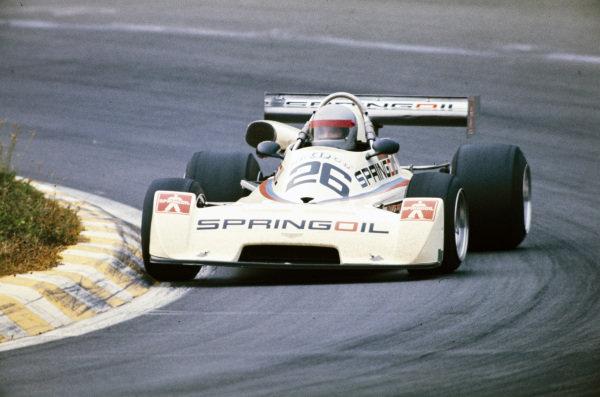 Gianfranco Trombetti, Chevron B35 BMW.