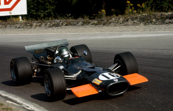 Mosport Park, Ontario, Canada.18-20 September 1969.Bill Brack (BRM P138).Ref-69 CAN 22.World Copyright - LAT Photographic
