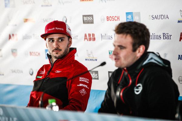 Daniel Abt (DEU), Audi Sport ABT Schaeffler, in the press conference