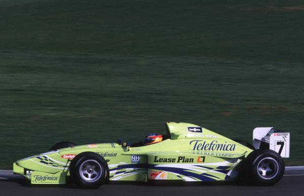 Silverstone, England. 22-23/3/2000. Fernando Alonso, Team Astromega. World - LAT Photographic