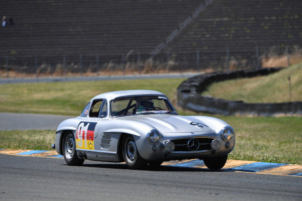 Alex Curtis, Mercedes 300SL Gullwing, 1955