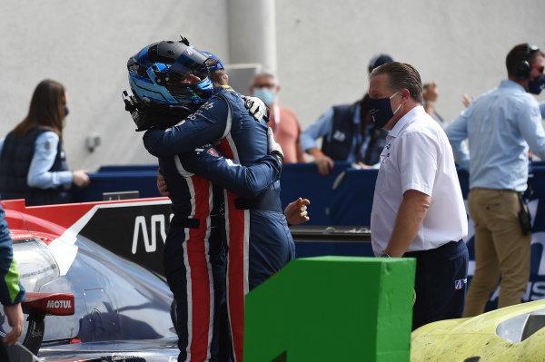 LMP2 winners #22 United Autosports Oreca 07 - Gibson: Philip Hanson, Filipe Albuquerque, Paul Di Resta