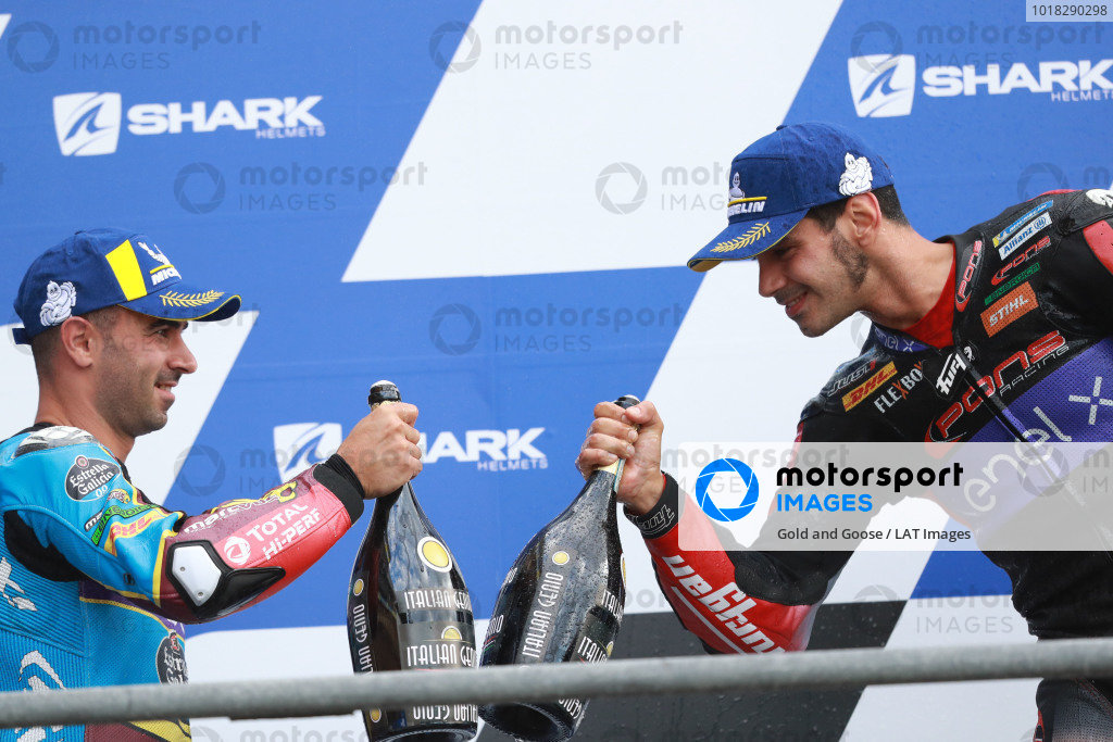 Mike di Meglio, EG 0,0 Marc VDS, Jordi Torres, Pons Racing 40.