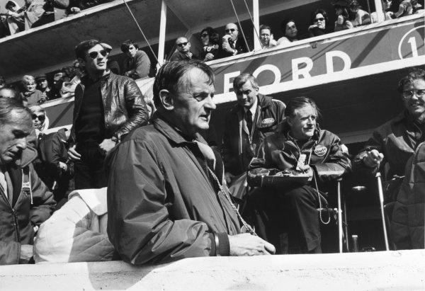 Le Mans, France. 13-14 June 1970 John Wyer, JWA Team Manager, portrait World Copyright: LAT PhotographicRef: Motor b&w print