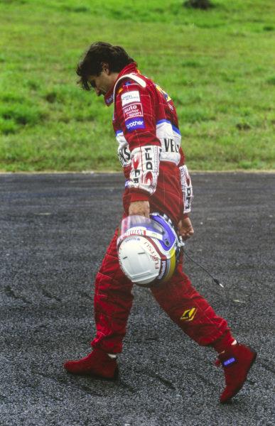 Alessandro Zanardi, Williams FW21 Supertec.
