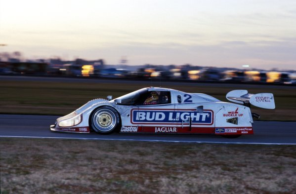 Scott Pruett (USA) TWR Jaguar XJR-12D, 2nd place.