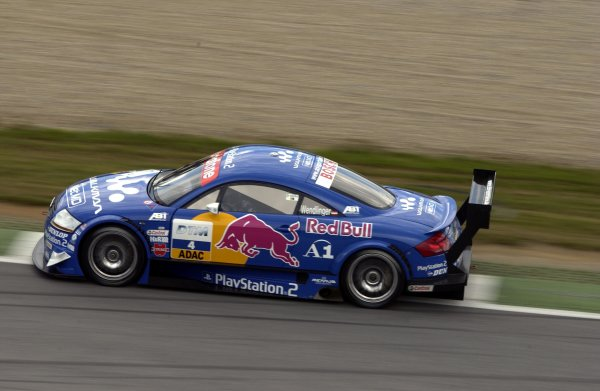 2002 DTM Championship A1 Ring, Austria. 7th - 8th September 2002. Karl Wendlinger (Abt Audi), action.World Copyright: Andre Irlmeier/LAT Photographic