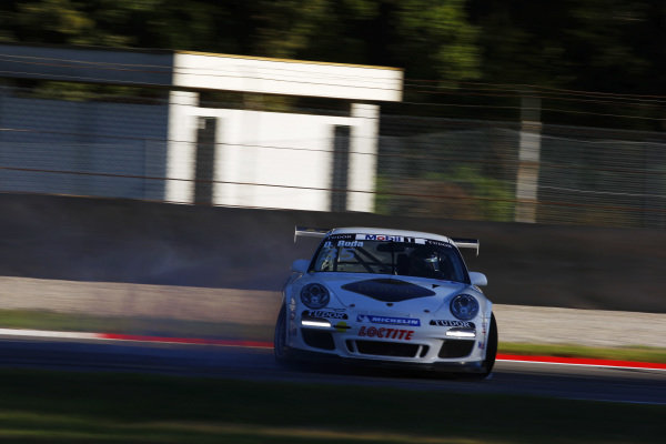 A spinner. Porsche Supercup, Rd 9, Monza, Italy, 10-12 September 2010.