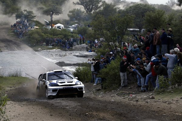 2003 FIA World Rally Champs. Round Five, Argentina,  8th-11th May 2003 Markko Martin, Ford, action. World Copyright: McKlein/LAT