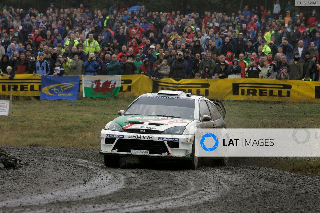 2004 FIA World Rally Champs. Round twelve,