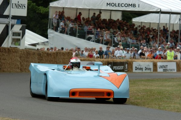2006 Goodwood Festival of Speed Goodwood 7th/8th/9th JulyVic Elford Porsche 908 / 3World Copyright: Jeff Bloxham/LAT Photographic.Ref: Digital Image Only.