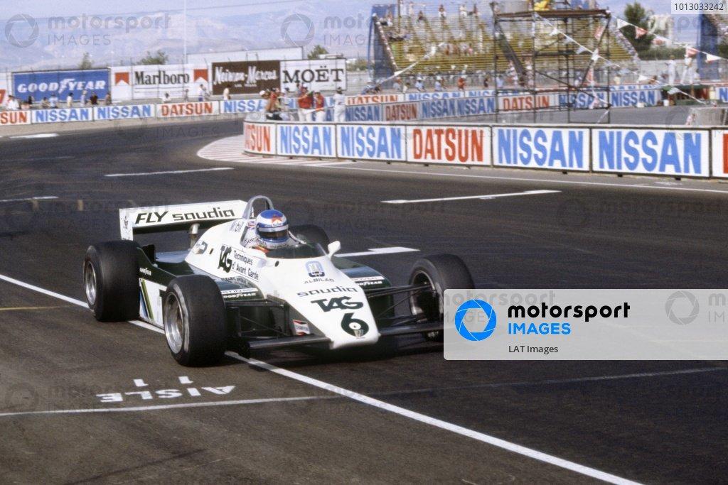 1982 Las Vegas Grand Prix.