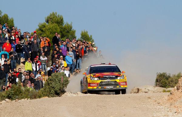 Rally of Spain, Catalunya - Cost Daurada21st October - 24th October 2010Petter Solberg, Citroen, ActionWorldwide Copyright: McKlein/LAT