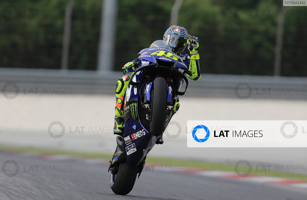 2018 MotoGP Championship - Sepang test, Malaysia Tuesday 30 January 2018 Valentino Rossi, Yamaha Factory Racing World Copyright: Gold and Goose / LAT Images ref: Digital Image 1129